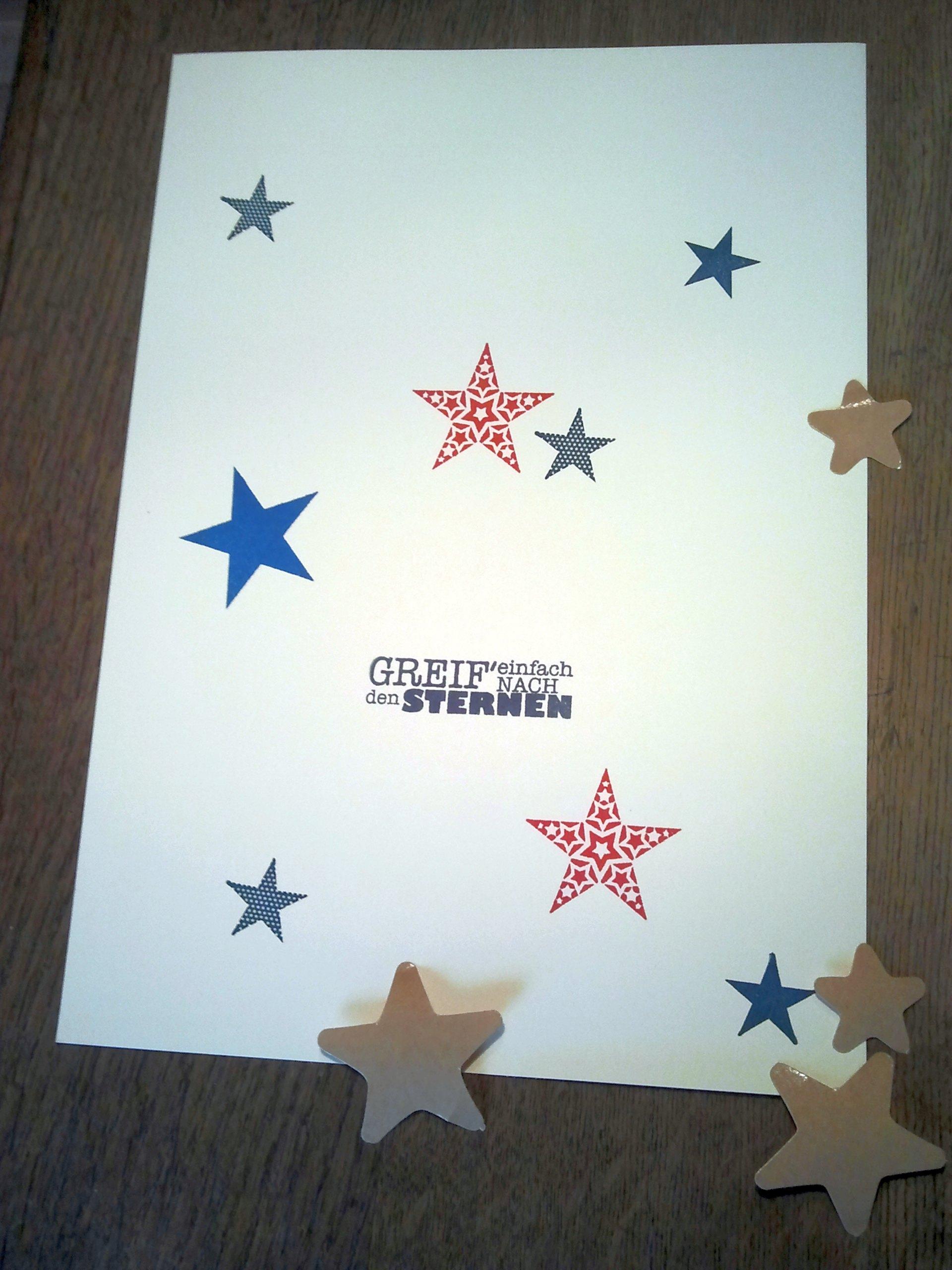 Sterne groß